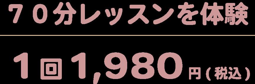 1回1,980円